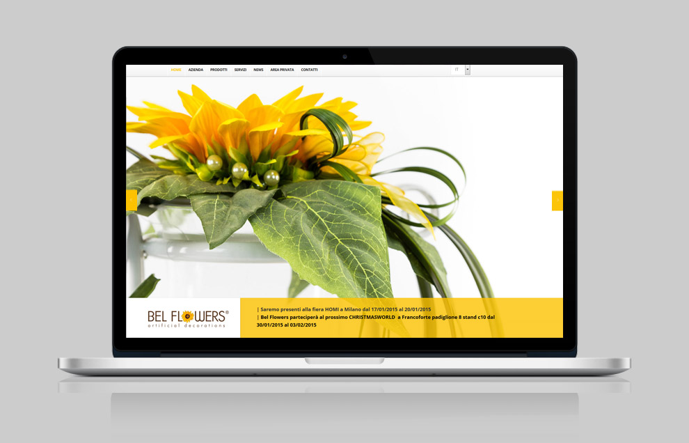 bel flowers home page